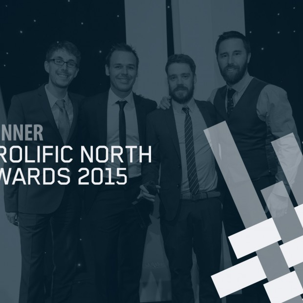 Prolific North 2015 Best Content Team winners