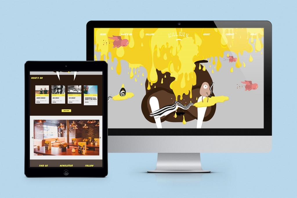8.Walrus - homepage iMac + iPad